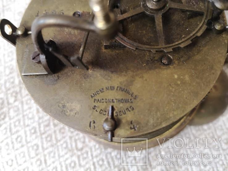 Накамінний годинник Франція 19ст., фото №6