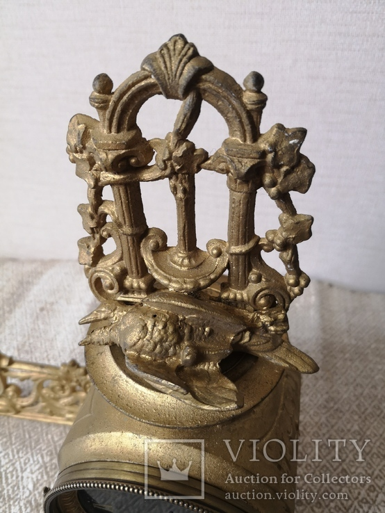 Накамінний годинник Франція 19ст., фото №10