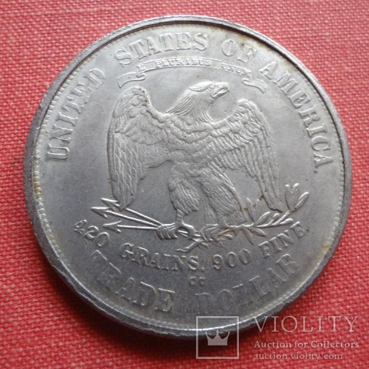 1 доллар 1876 США  копия  (S.4.1)~, фото №2