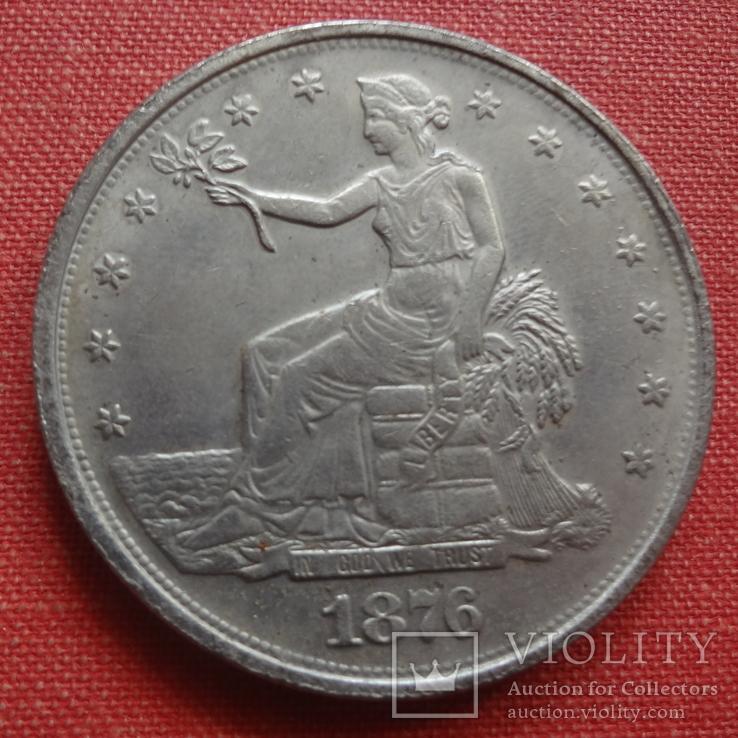1 доллар 1876 США  копия  (S.4.1)~, фото №3