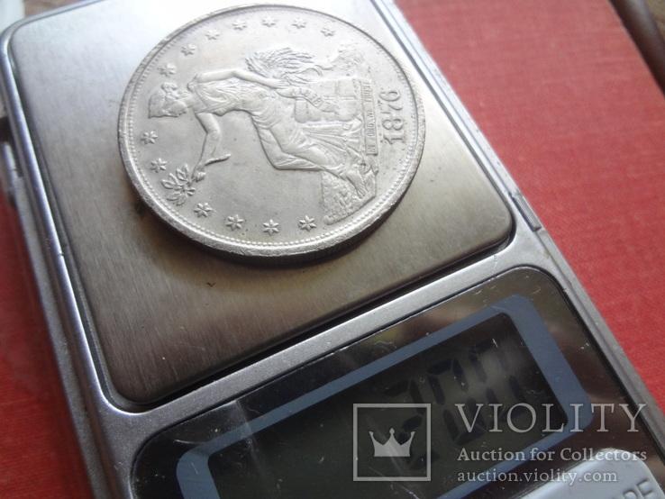 1 доллар 1876 США  копия  (S.4.1)~, фото №4
