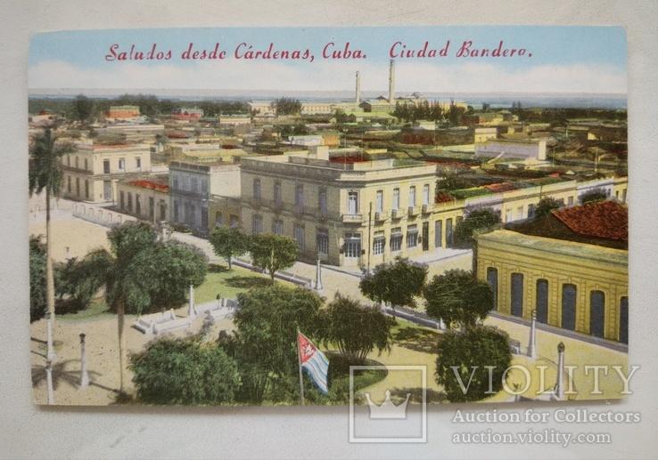Дорев, Куба,Карденас, Сев.часть города, вид на Банк, Масонскую Ложу, Почту