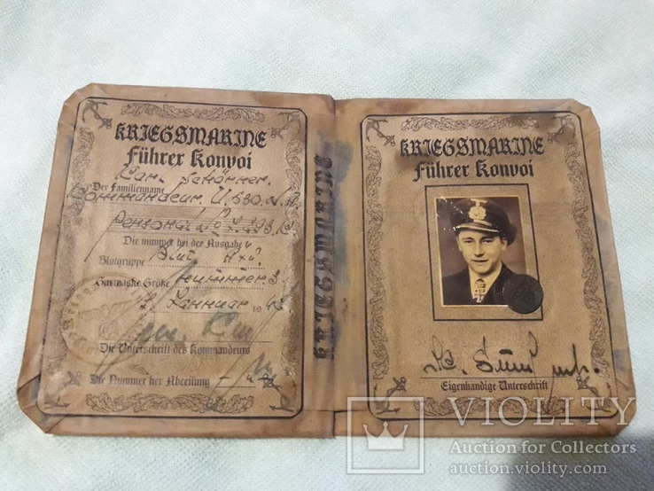 Немецкий документ ,очень хорошая копия, фото №2