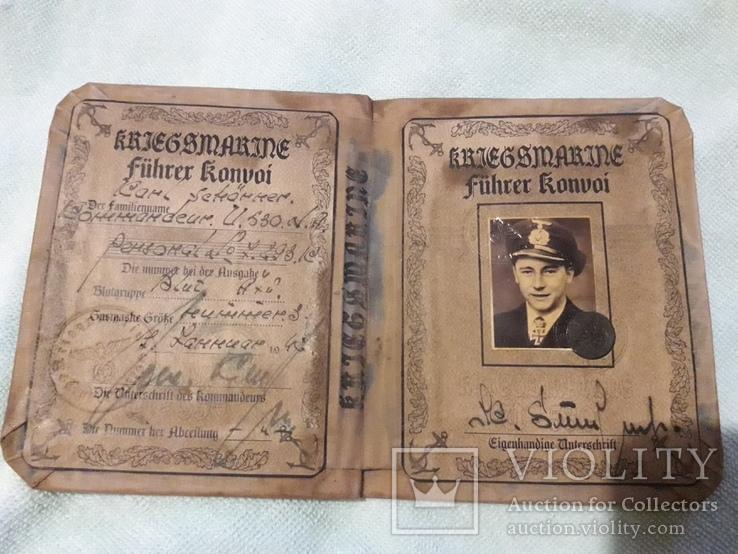 Немецкий документ ,очень хорошая копия, фото №8