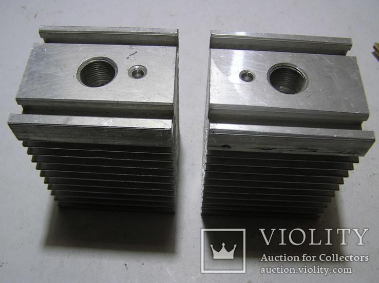 Радиаторы для мощных тиристоров и диодов. 2 штуки., фото №2