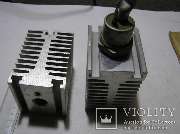 Радиаторы для мощных тиристоров и диодов. 2 штуки., фото №5