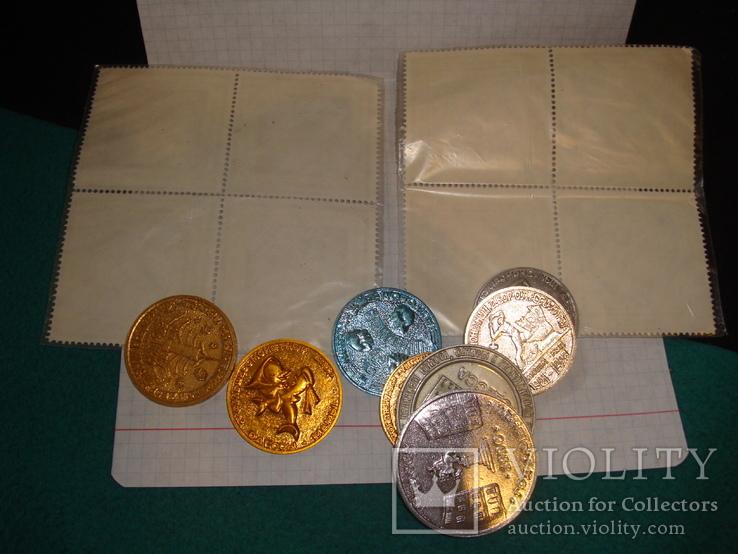 Памятные монеты жетоны одесской юморины, фото №11
