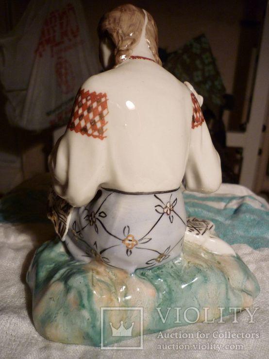Вышивальщица старый Киев клеймо периода 1954-1959 годов, фото №4