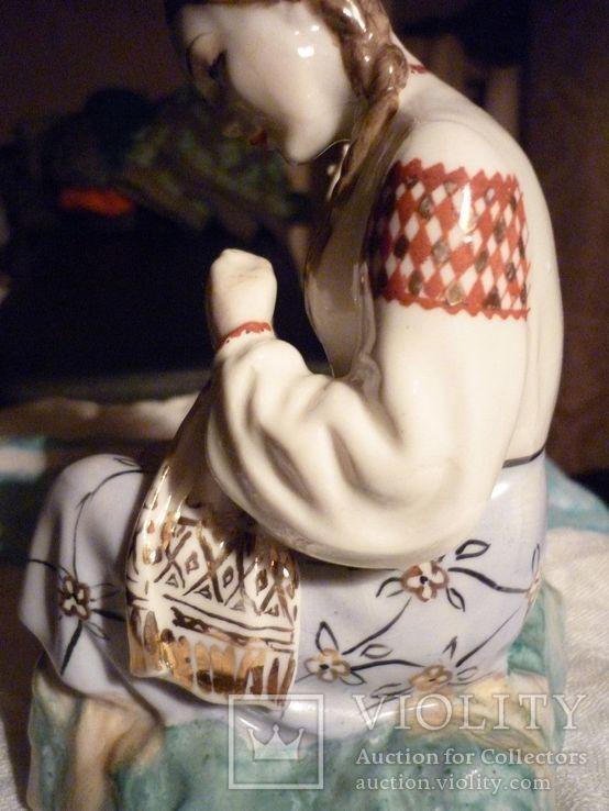 Вышивальщица старый Киев клеймо периода 1954-1959 годов, фото №11