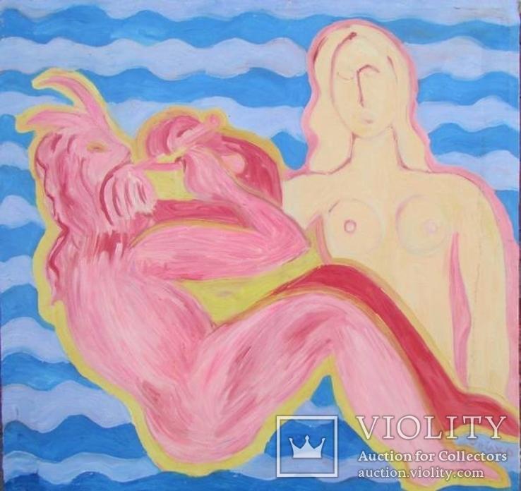 Картина Бойко П.Б. «Пісня про човен» 2010 р., фото №2