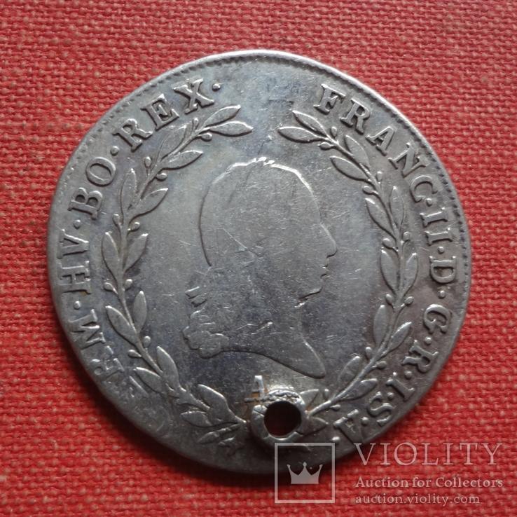 20 крейцеров 1802  Австро-Венгрия серебро  (S.9.14)~, фото №3
