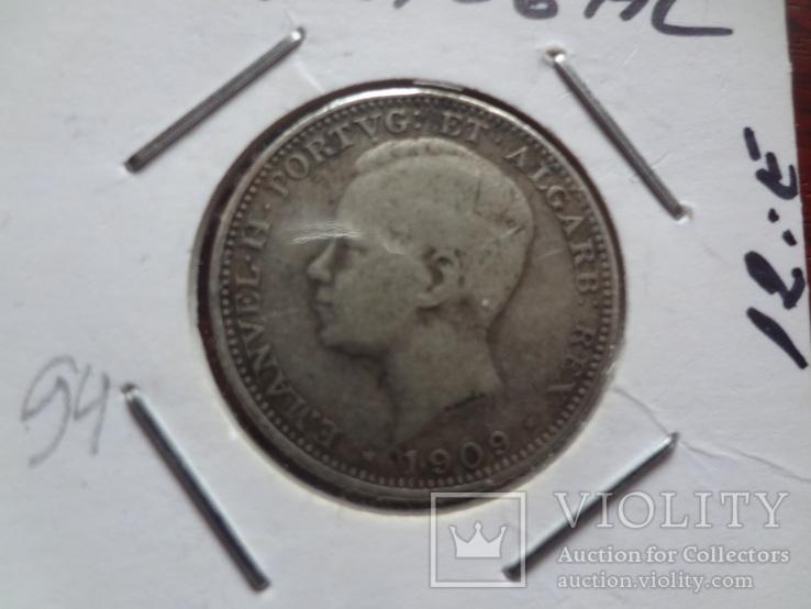 200 рейс 1909 Португалия серебро Холдер 94, фото №2
