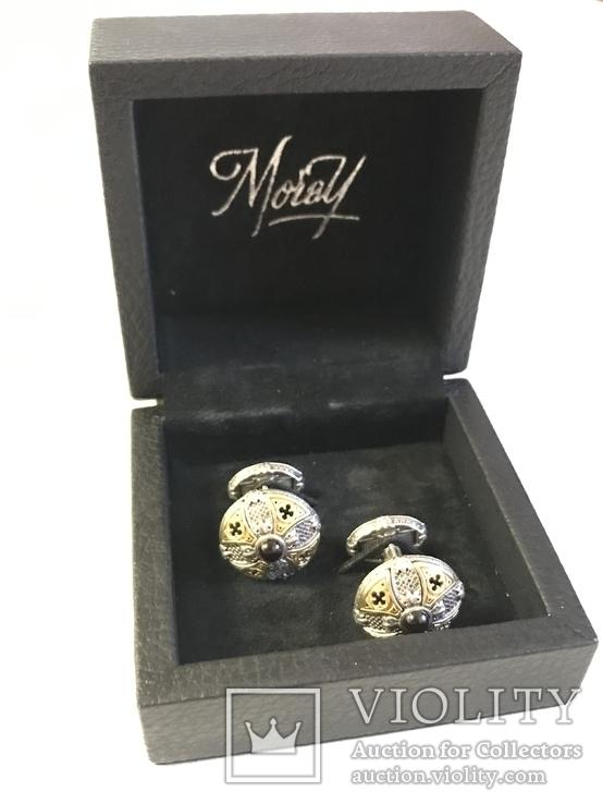 Запонки Gothic premium Moray, фото №3