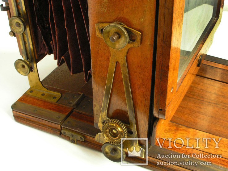 Фотоаппарат деревянный,конец 1800-х г.г.,Англия., фото №10