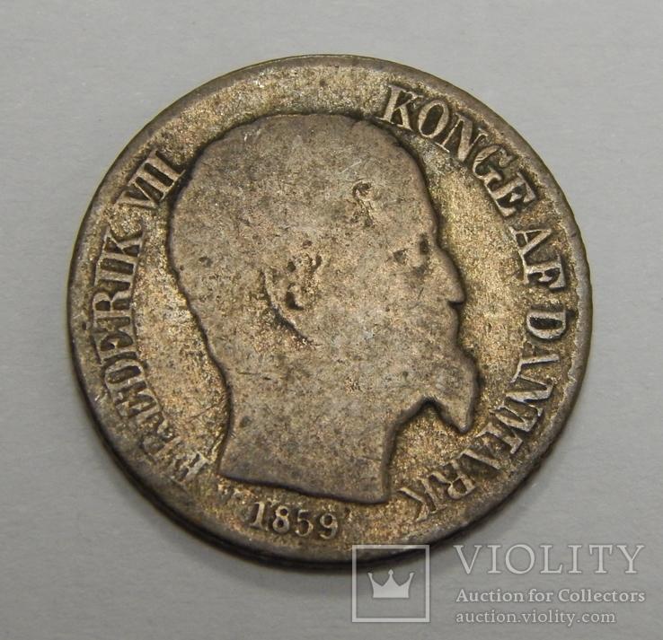 5 центов, 1859 г Датская Вестиндия, фото №3