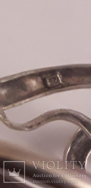 """Срібний браслет """"Змія"""", фото №6"""