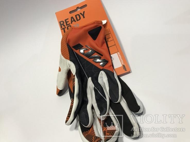 Перчатки КТМ для кросса, фото №3