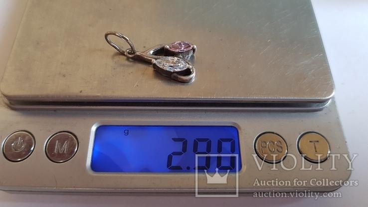 Подвес серебро 925 проба. Вес 2.90 г., фото №8