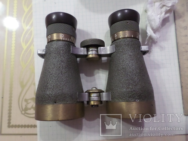 Немецкий бинокль Voigtlander Braunschweig, фото №11