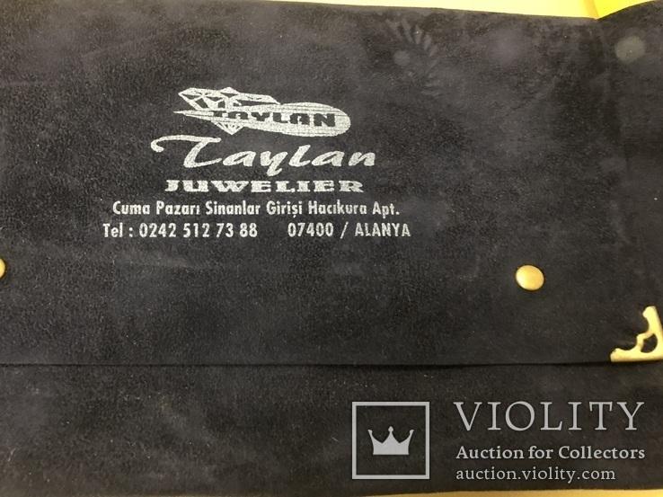 """Бриллиантовое колье и браслет """"Jaylan Juwelier"""" 585 пробы золота, фото №4"""