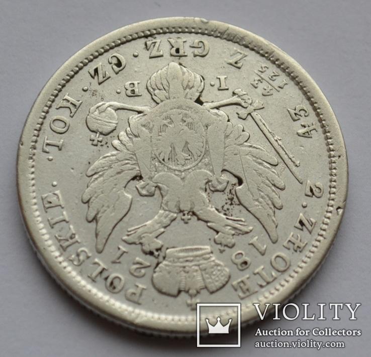 2 злотых (zloty) 1821 года IB, фото №7