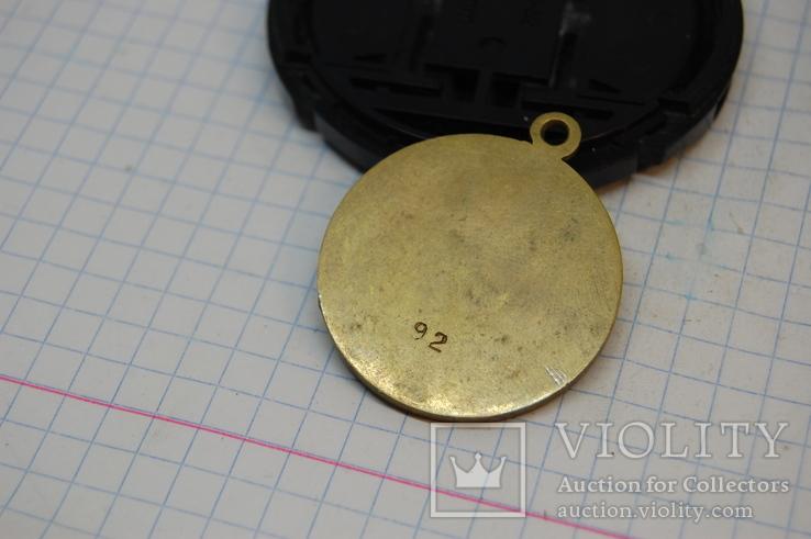 Медаль Сталин. Копия. С гладкой обратной стороной - можно нанести надпись, фото №4