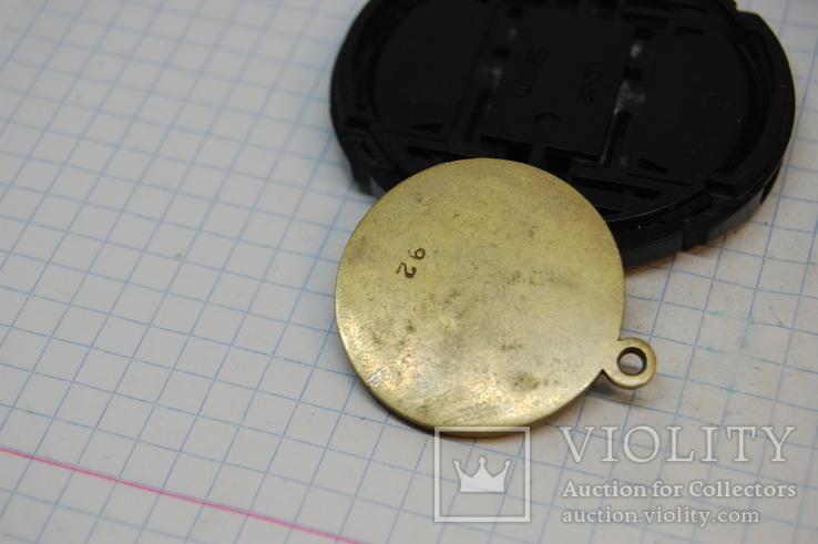Медаль Сталин. Копия. С гладкой обратной стороной - можно нанести надпись, фото №5