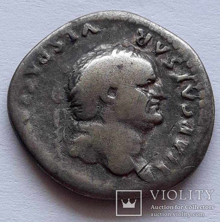 Денарий Веспасиана, фото №3