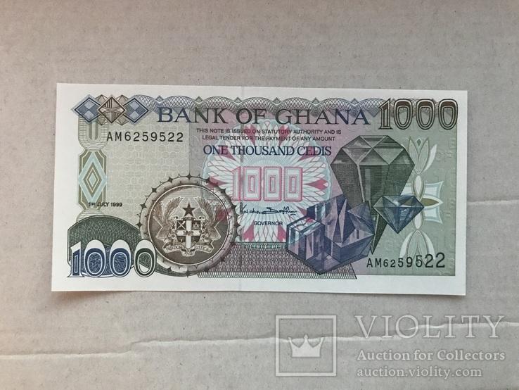 1000 седіс Гана 1999, фото №2