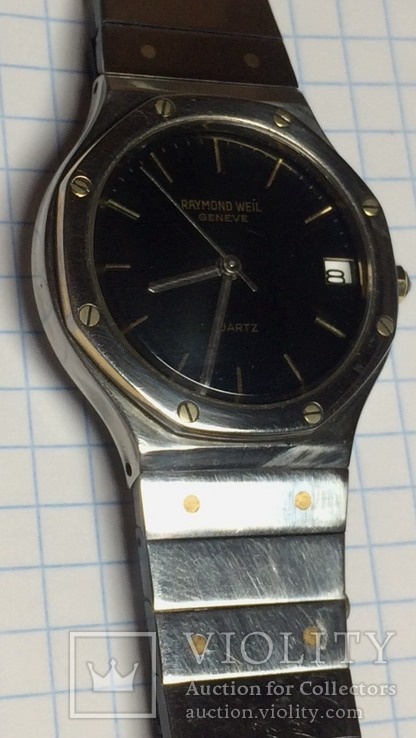 Часы Raymond Weil geneve quartz Patented model, фото №4