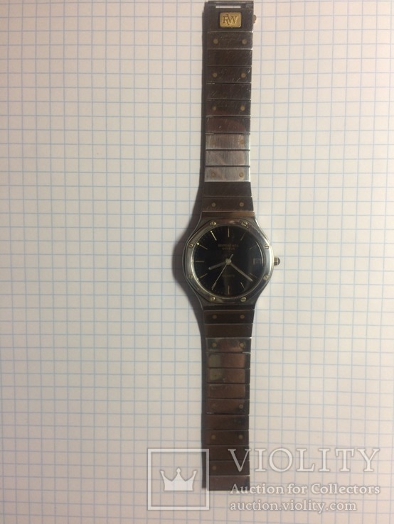Часы Raymond Weil geneve quartz Patented model, фото №8