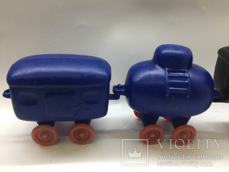 Паровоз вагон цистерна времён СССР цена клеймо, фото №3