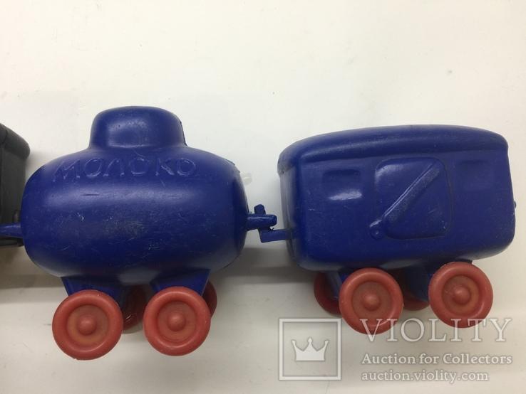 Паровоз вагон цистерна времён СССР цена клеймо, фото №11