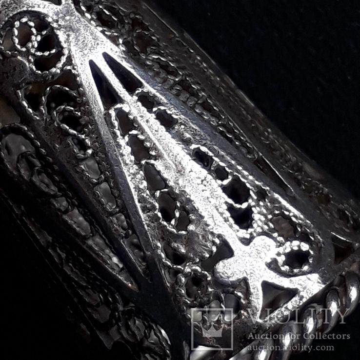 Напёрсток, наперсток, серебро, 7- грамм, филигрань, фото №7