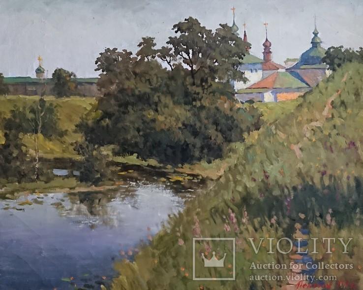 """Картина ,, Суздаль, река Каменка """"худ. Пентюх, фото №4"""