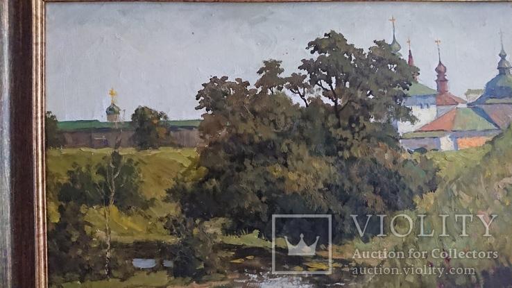 """Картина ,, Суздаль, река Каменка """"худ. Пентюх, фото №8"""