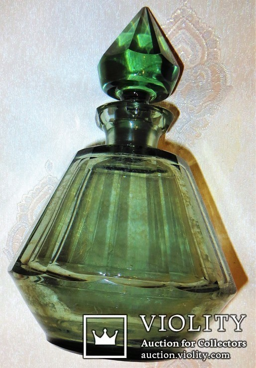 Графин для коньяка цветное стекло., фото №2
