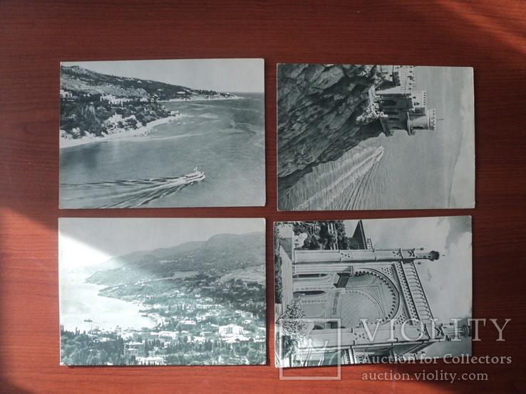 Открытки «Крым». 22 шт. 1955 год., фото №7