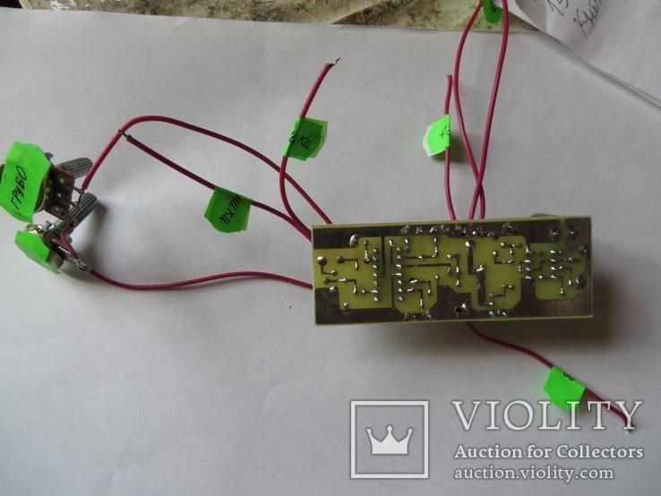 Металлоискатель ПИРАТ (собранная плата с двумя резисторами), фото №3
