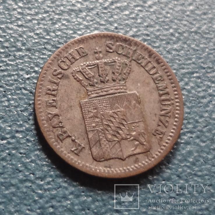 1 крейцер 1864 Баден  серебро   (Z.4.1)~, фото №6