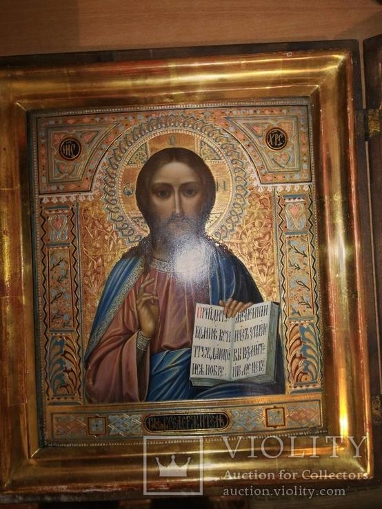 Икона Господь Вседержитель, очень красивая.
