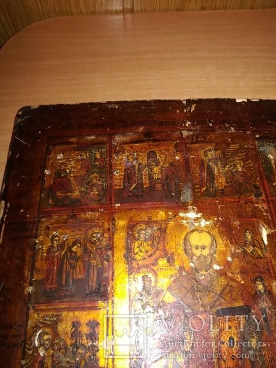 Старинная икона в окладе., фото №11