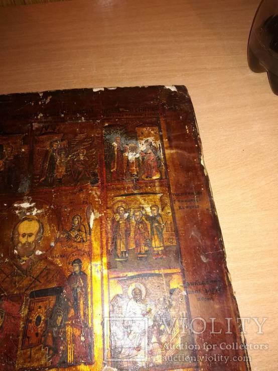 Старинная икона в окладе., фото №12