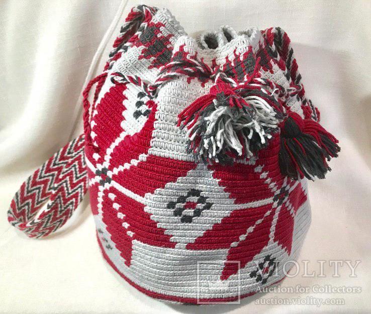 "Колумбийская сумка ""Мочила"", фото №2"