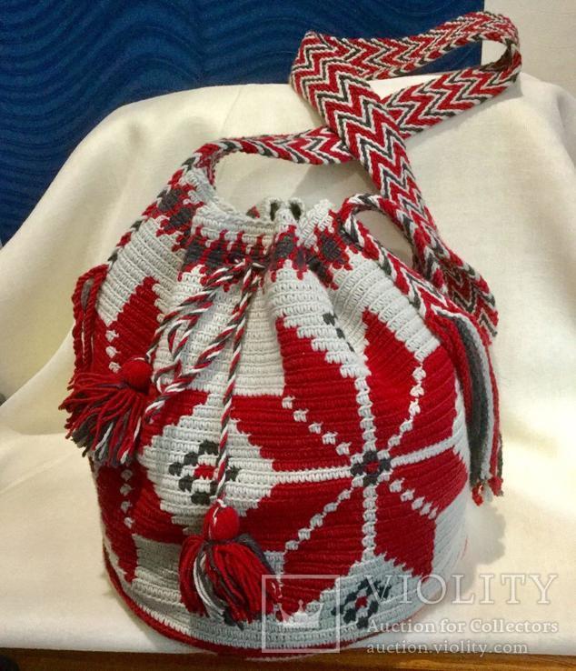 "Колумбийская сумка ""Мочила"", фото №6"