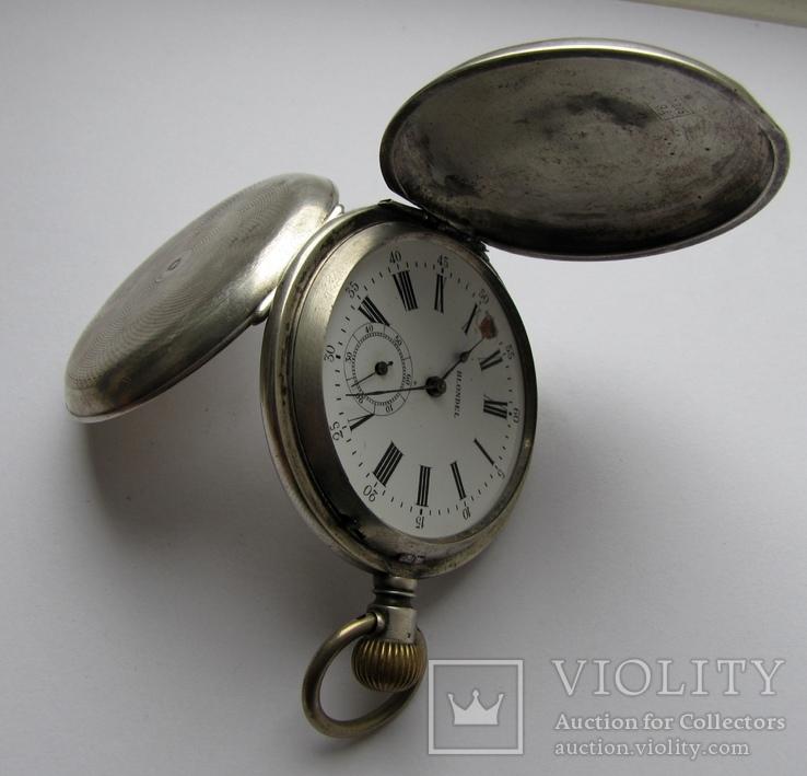 Часы карманные Blondel . Двойная крышка . Серебро
