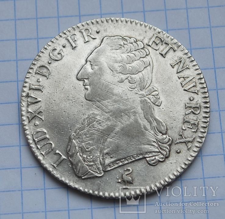 Экю 1790 года., фото №4
