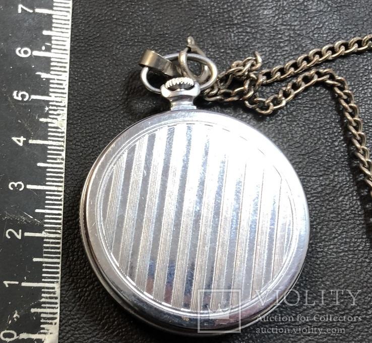 Карманные часы Молния. На ходу, фото №5