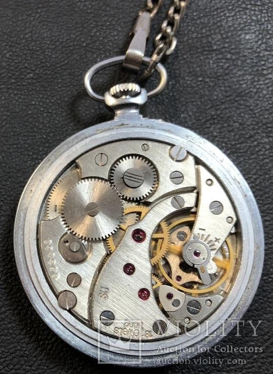 Карманные часы Молния. На ходу, фото №8
