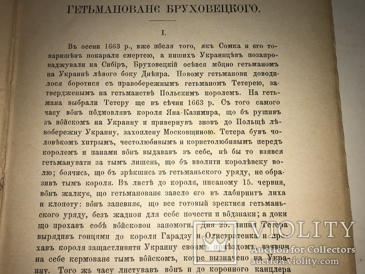1892 Українська Руїна Гетьман Бруховецького 500 наклад, фото №11